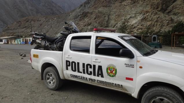 La policía al rescate